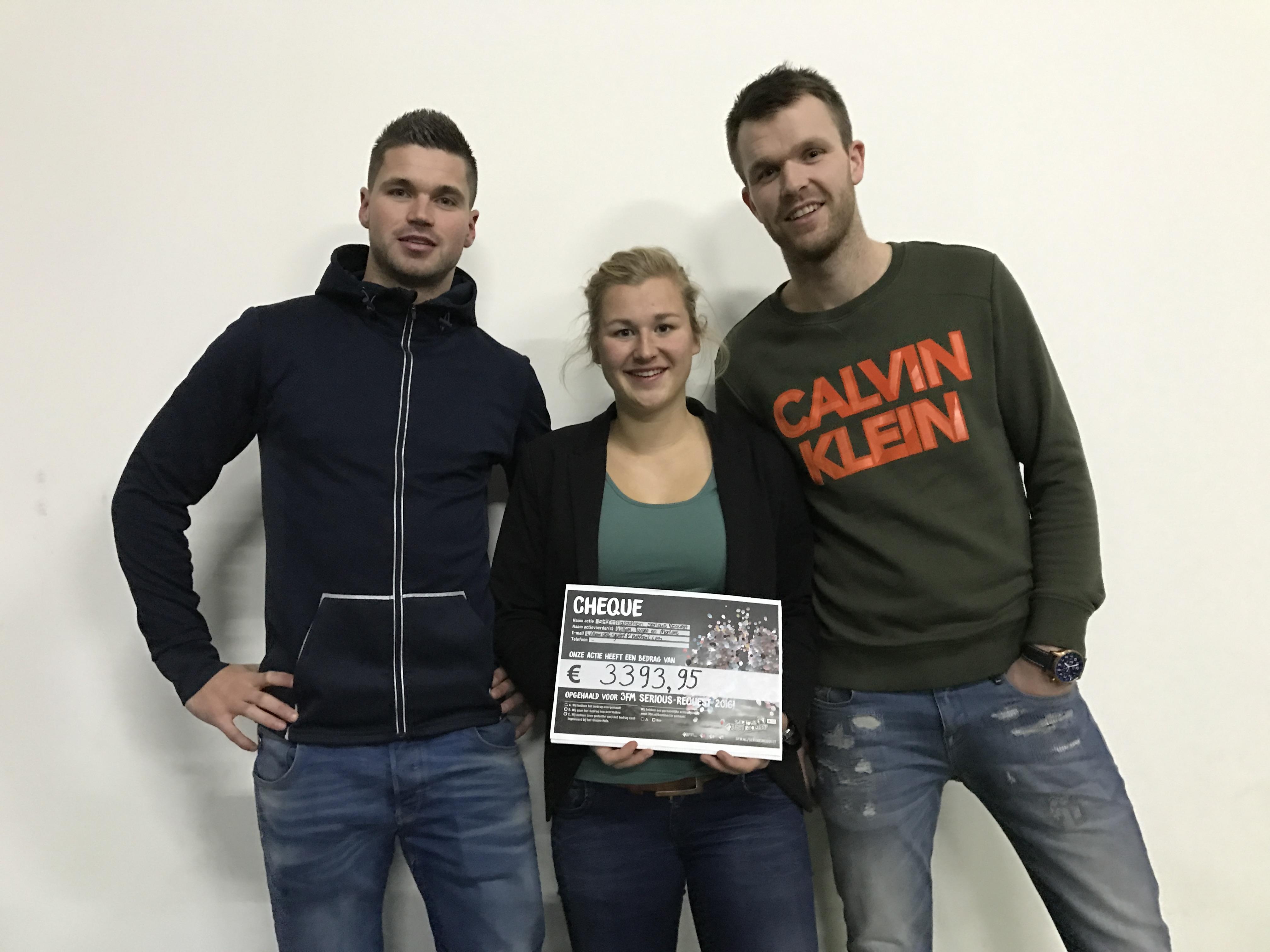Serious Request sportmarathon Stellingwerf Gym