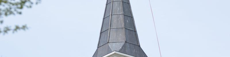 Vlag op de kerk